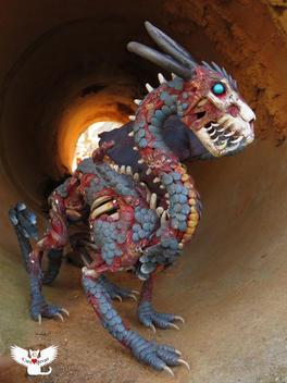Vegzet the Zombie Dragon