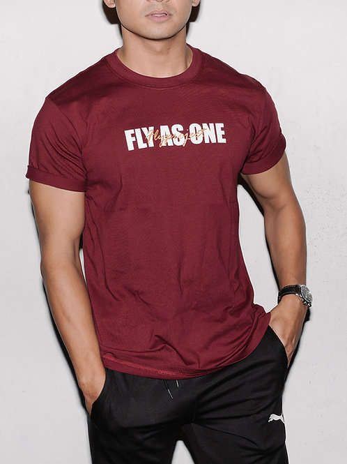 FLY AS ONE SCRIPT T-SHIRT