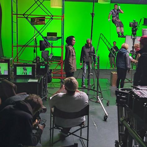 Сцена для полнометражного фильма.