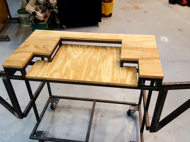 Custom Chop Saw Table