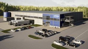 Leröy Kungälv     Kyllager & Distributionscenter (kommande)
