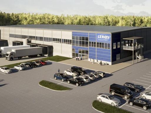 Leröy Kungälv  |  Kyllager & Distributionscenter (kommande)