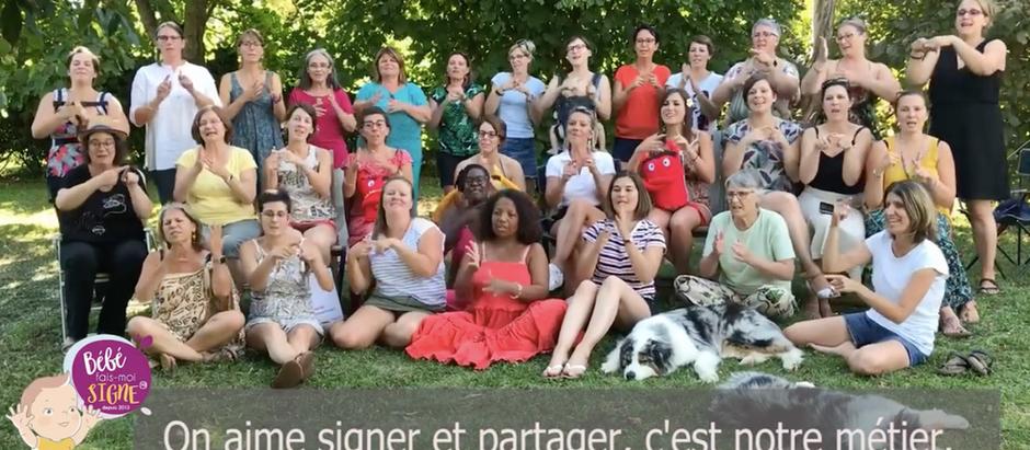 L'association Bébé Fais-Moi Signe a un nouvel hymne !