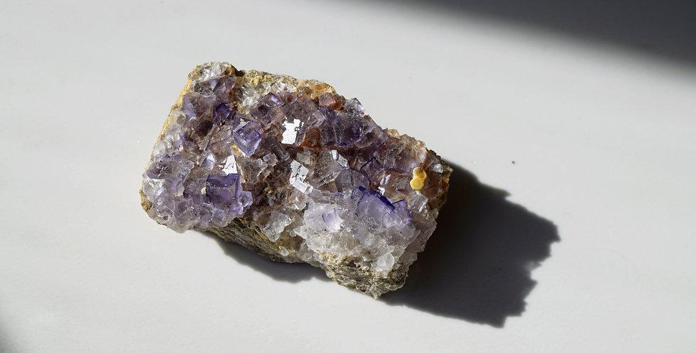 Small Purple Cubic Fluorite