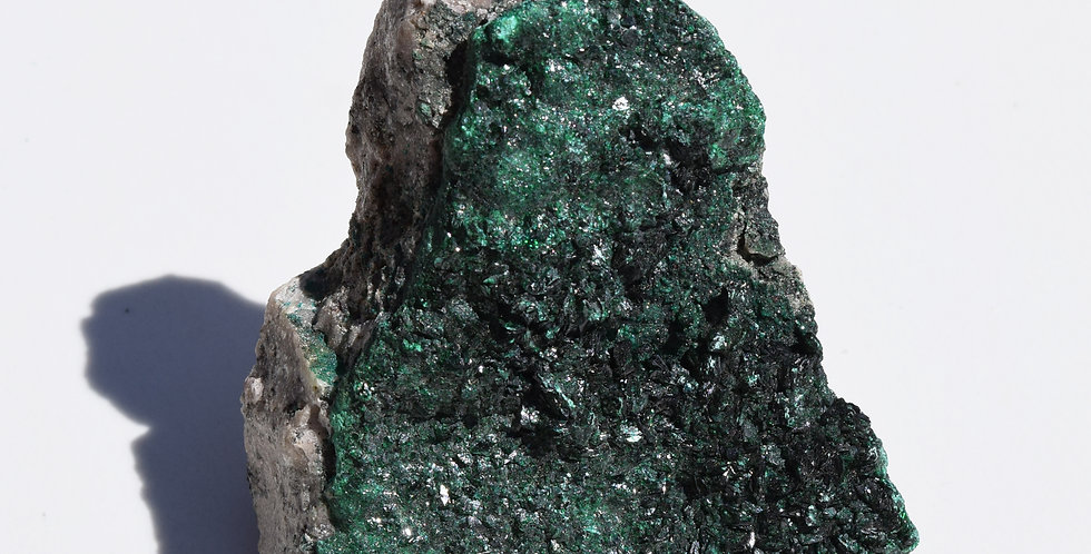 Raw Malachite Crystal I