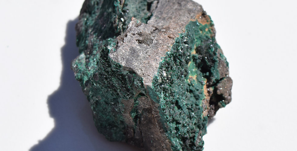 Raw Malachite Crystal III