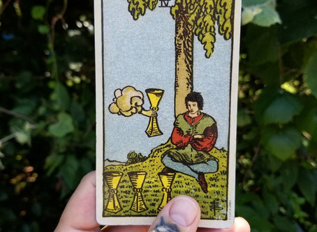 4 of Cups -
