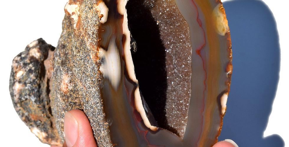 Galaxy Agate Geode