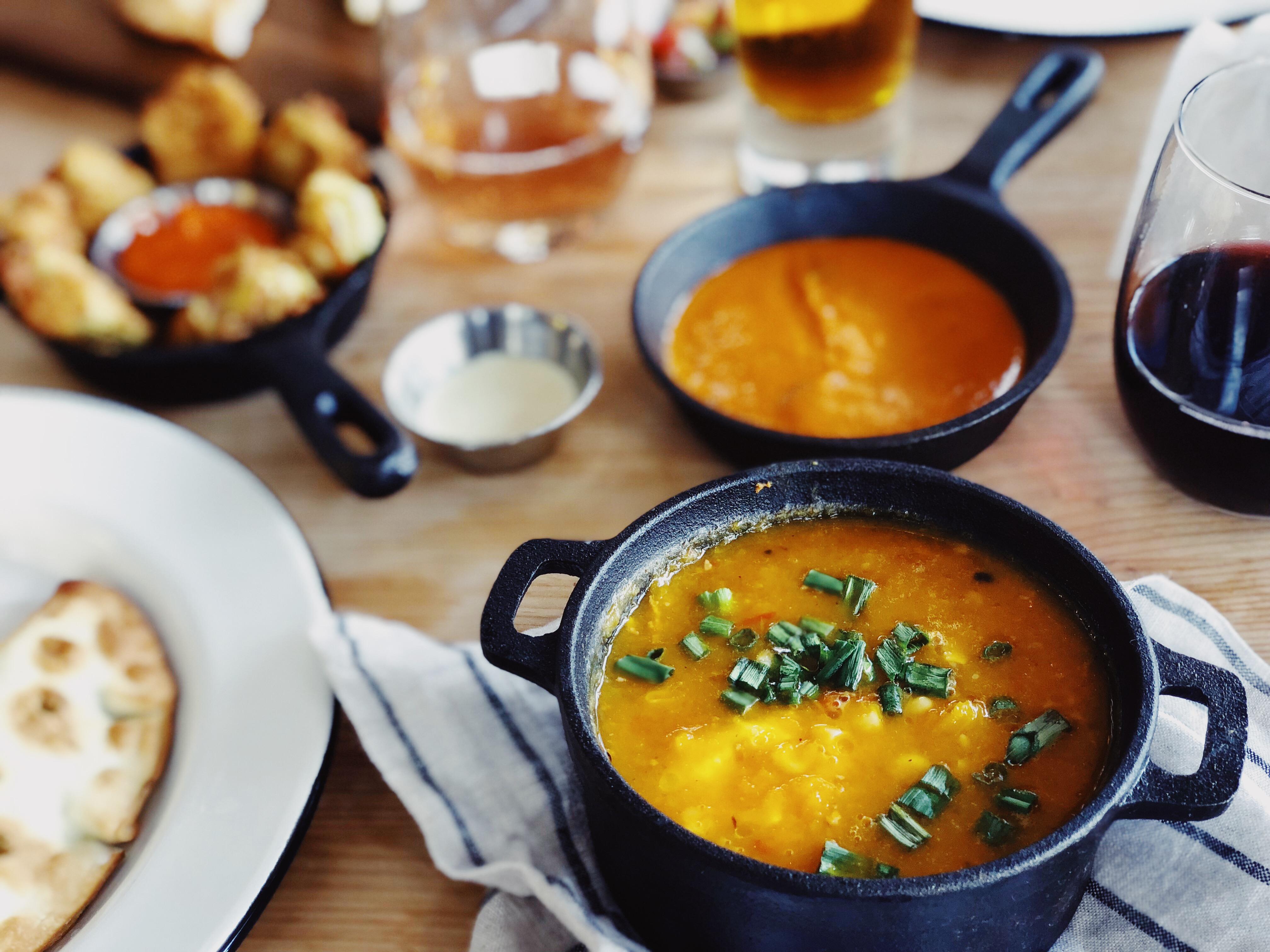 Butternut Squash & Corn Soup