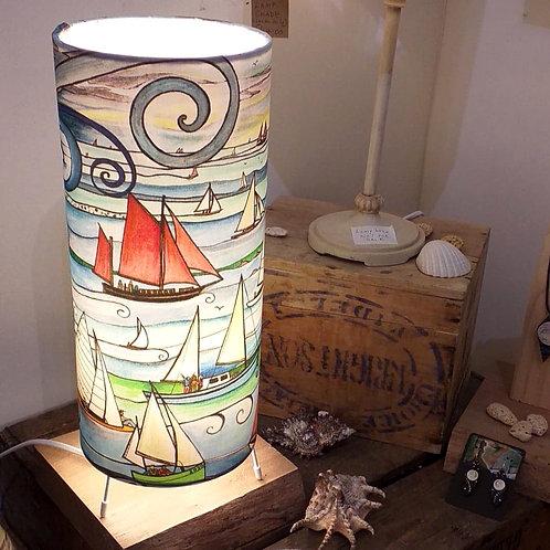 Sail boats ~ Small lamp
