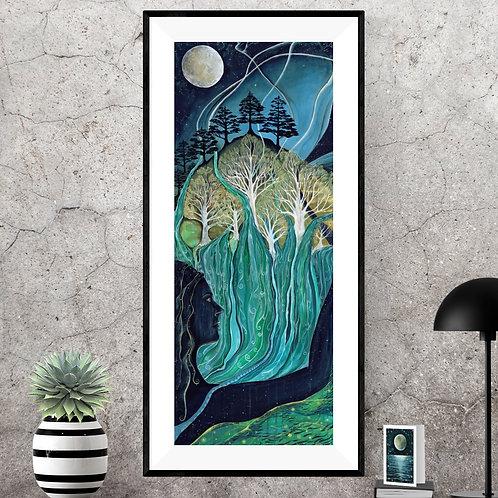 Water & Stardust ~ Original painting