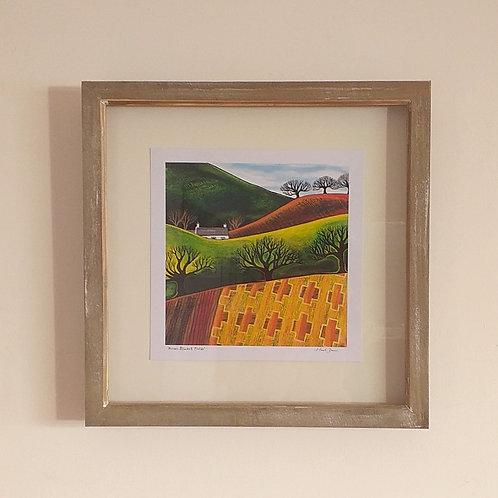 Across Blanket Fields ~ Framed print