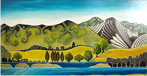 The Hills Are Alive ~ Original painting
