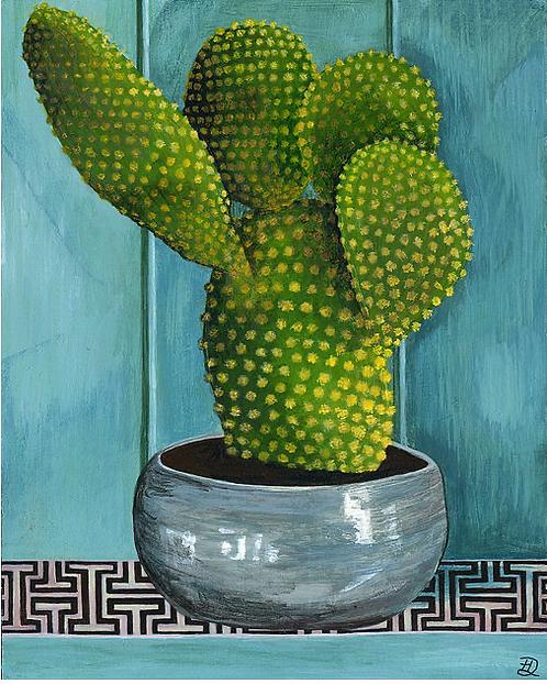 Pretty Prickly ~ Original painting