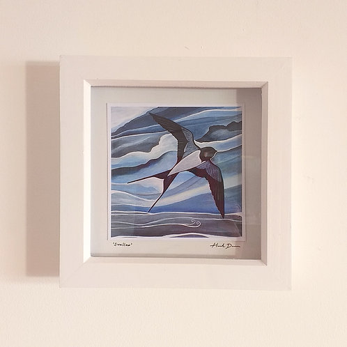 Swallow ~ Framed Mini