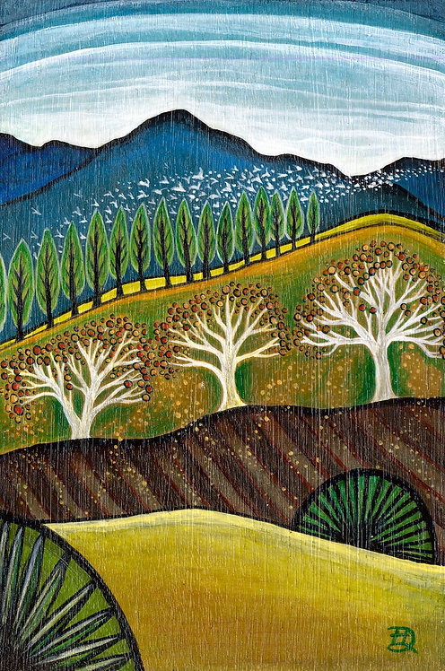 End Of Season ~ Original painting