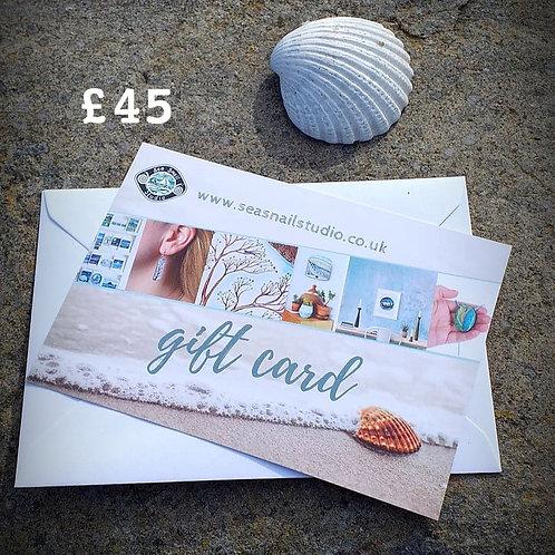 £45 Gift card