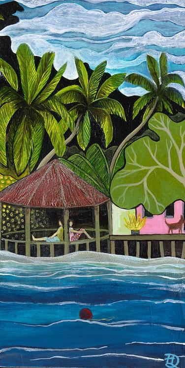 Island Bar ~ Original painting