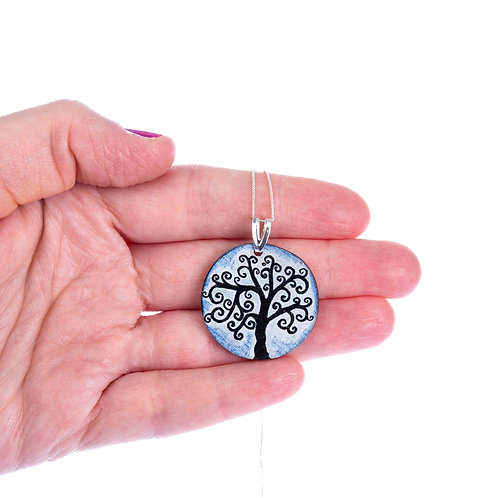 Tree Of Life ~ Sterling Silver Chain