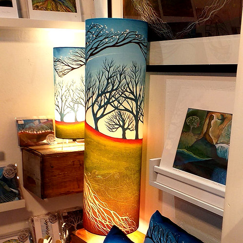 Seeing through the woods - Floor lamp