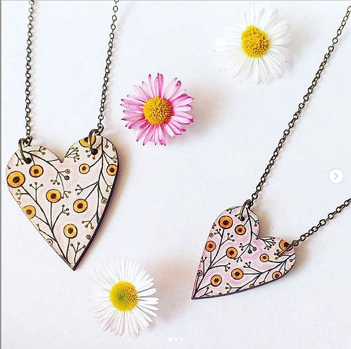 Heart Bloom pendant
