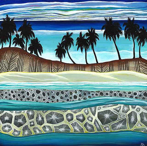 Beyond The Reef~ Original painting