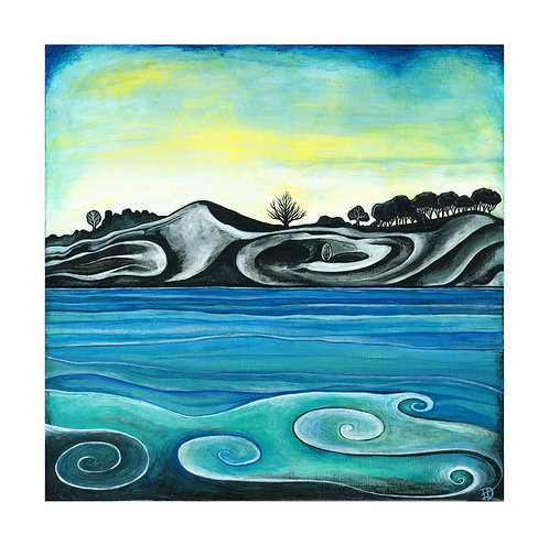 Turning Tide ~ Original painting