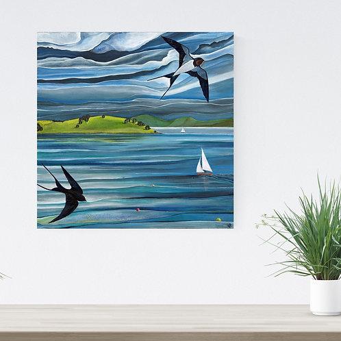 Swallows & Sails ~ Original Painting