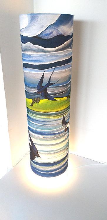 Swallows & Sails ~ Large lamp