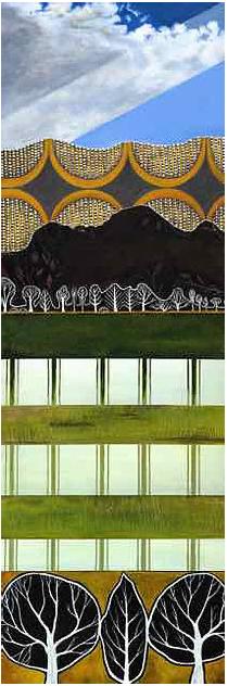 Across The Paddock ~ Original painting