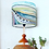 Thumbnail: Shell Horizon - 25cm drum shade