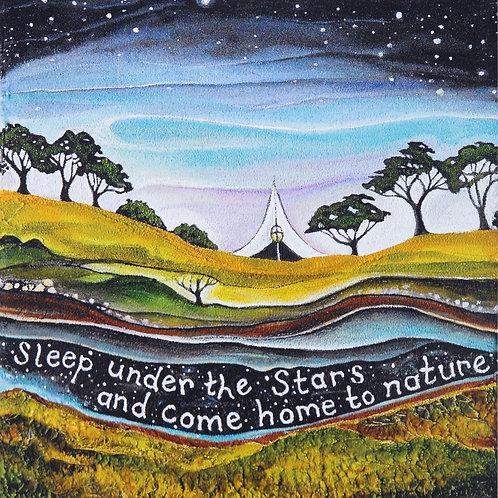 Sleep Under The Stars ~ Original painting