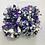 Thumbnail: ポンポン:紫&シルバー