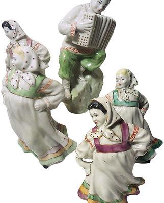 Фарфоровая статуэтка Хоровод