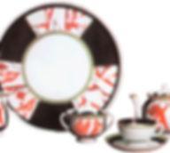 Сервиз чайный Металл