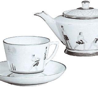 Сервиз чайный Физкультура и отдых