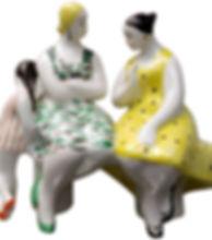 Продать фарфоровую статуэтку