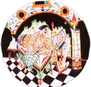 Тарелка Летописец