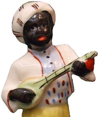 Фарфоровая статуэтка Арапчонок