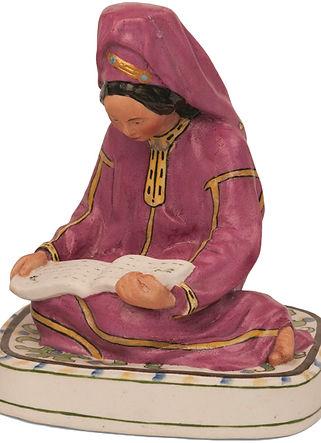 фото статуэтка Турменка за чтением.jpg