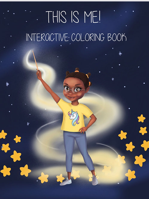 THIS IS ME: Interactive Coloring Book