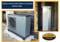 Pompe à chaleur air/eau NIBE