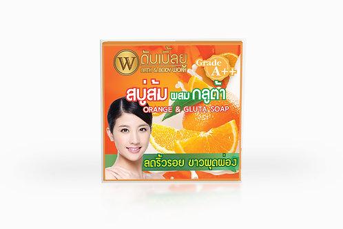 W. Orange & Gluta Soap