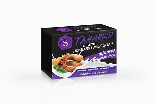 S Tamarind with Hokkaido milk soap