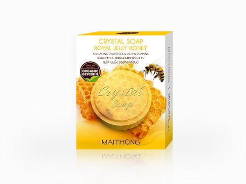 Maithong Crystal Soap (Royal Jelly Honey)