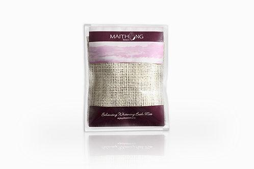 Maithong Balancing Whitening Bath Mitt (Violet)