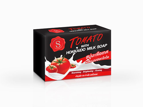 S Tomato with Hokkaido milk soap