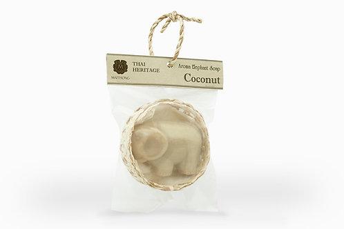Maithong Aroma Elephant Soap (Coconut)