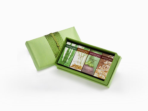 Maithong Mini Natural Soap Collection (Green Box)