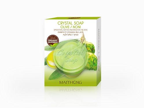 Maithong Crystal Soap (Olive / Noni)
